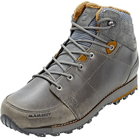 Mammut Chamuera Mid WP Shoes Men dark graphite-timber